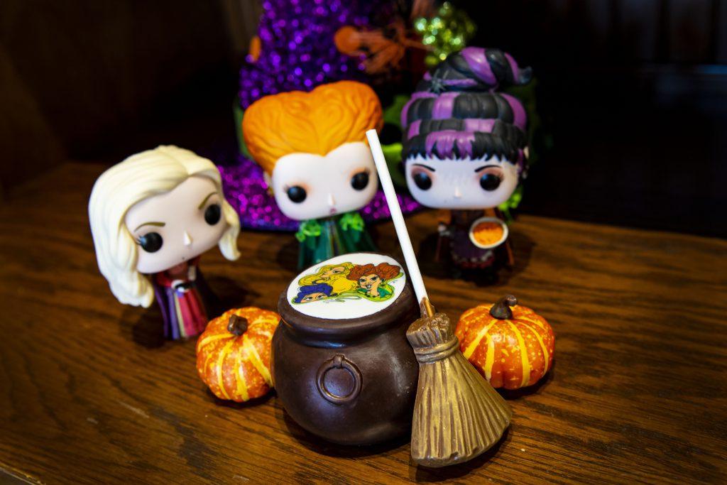 The Ganachery at Disney Springs - Cauldron Cocoa Bomb