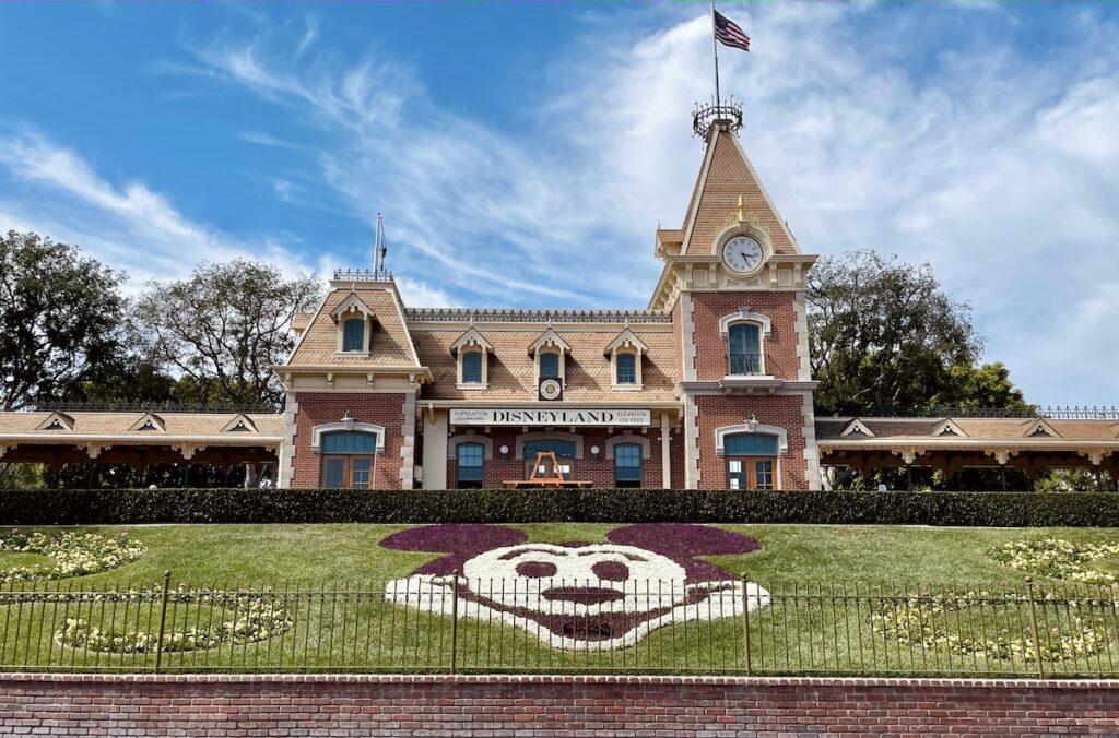 Disneyland Entrance and Main Street Station