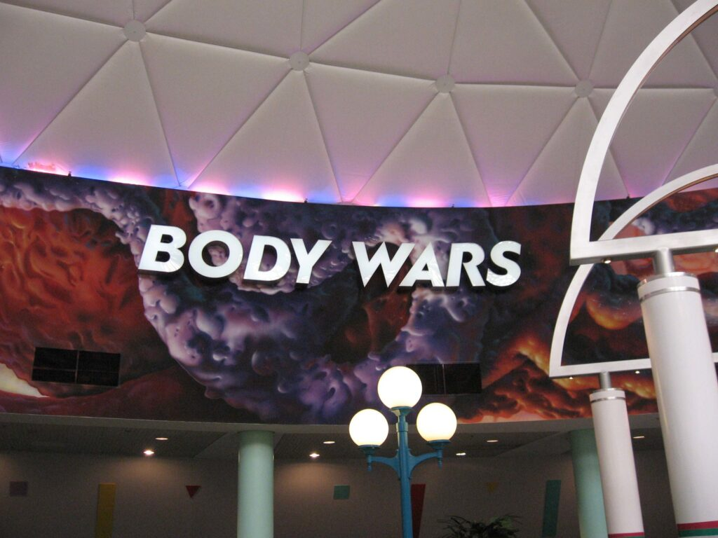 Body Wars was an anatomy themed attraction at Disney's EPCOT.