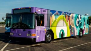 Disney free bus transportation around the resort