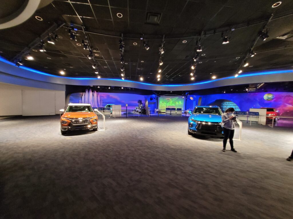 Chevrolet Showroom - After Test Track Attraction