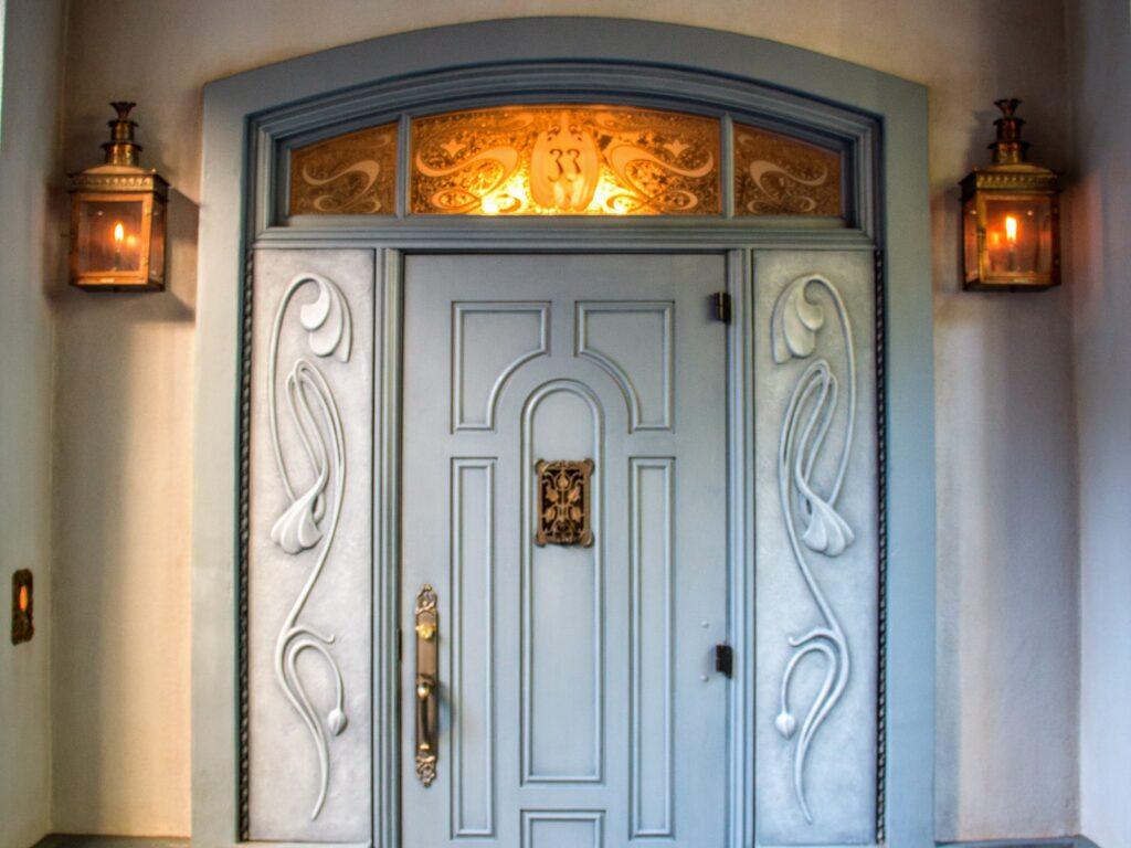 Club 33 Entrance at Disneyland by HarshLight