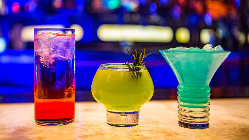 Vibrant Cocktails at Oga's Cantina