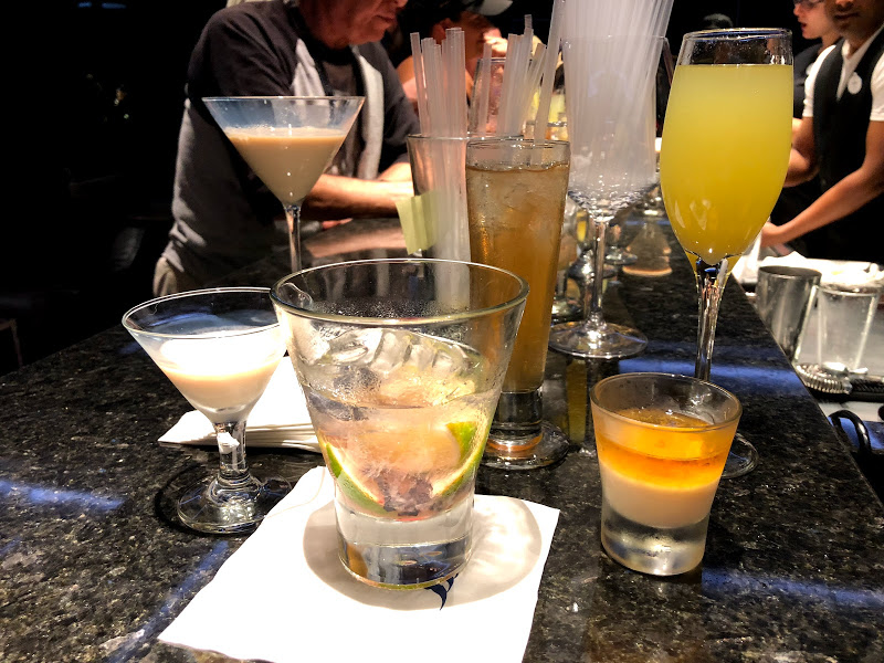 Happy Hour drinks and snacks at Disney Springs