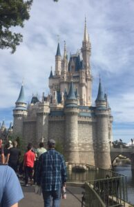 Guests on a guided tour at Disney's Magic Kingdom