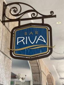 Bar Riva sign at Disney DVC Riviera Resort