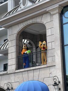 Pluto and Goofy at Disney DVC Riviera Resort