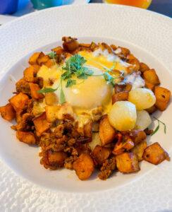 Breakfast at Topolino's Character Terrace Dining at DVC Riviera Resort