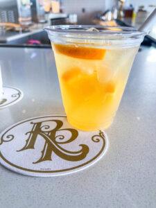 Orange Blossom Margarita cocktail at Disney DVC Riviera Resort