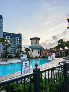Resort pool at DVC Riviera Resort