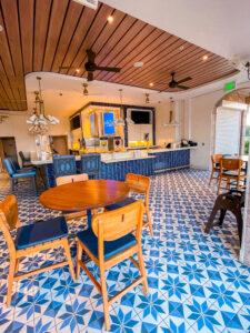 Bar Riva indoor dining area Disney Riviera Resort