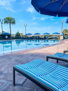 DVC Riviera Resort's leisure pool
