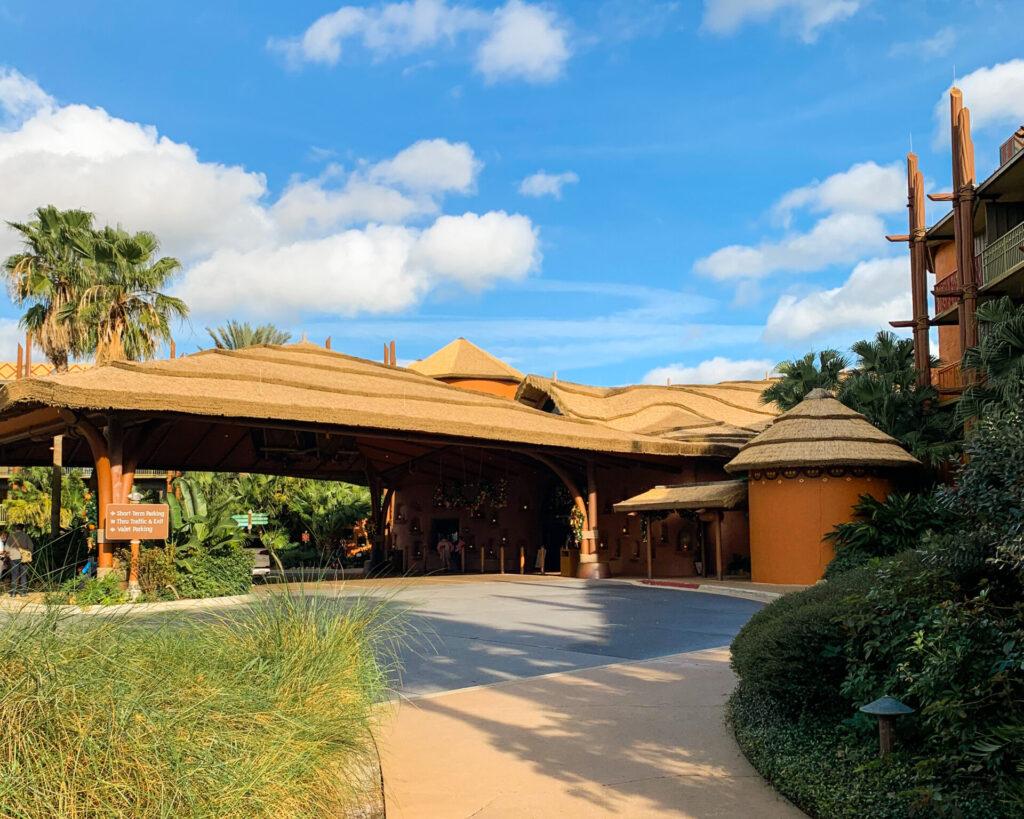 Entrance to Disney's Animal Kingdom Resort