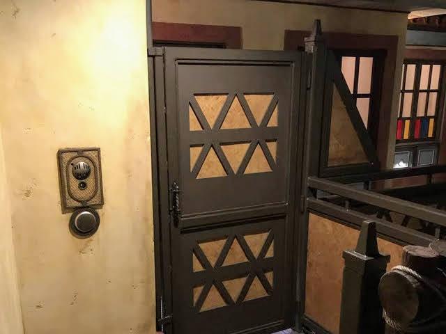 Magic Kingdom Club 33 Entrance in Adventureland