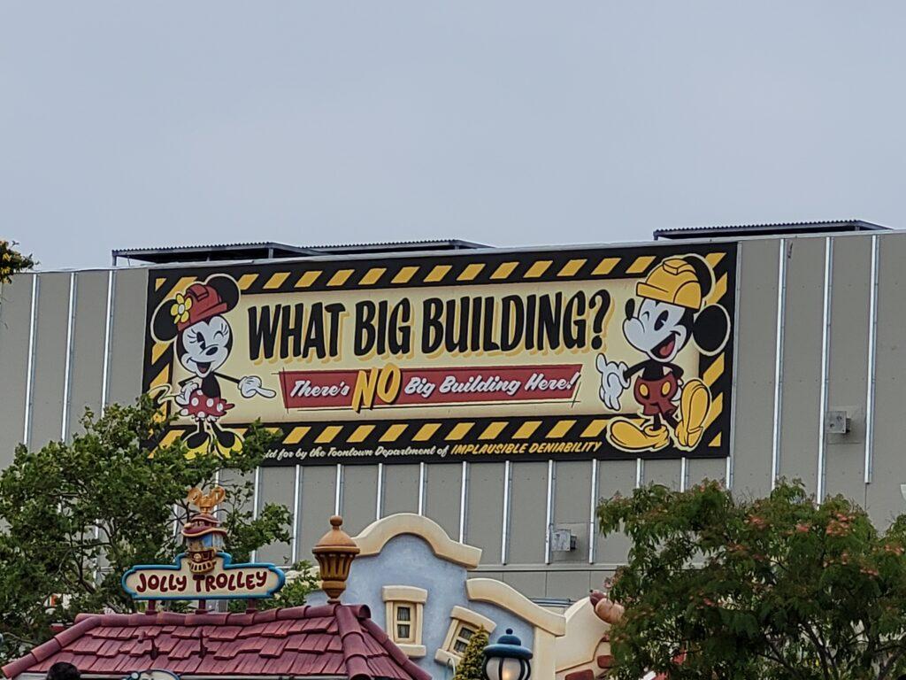 Mickey & Minnie's Runaway Railway Sign - Disneyland