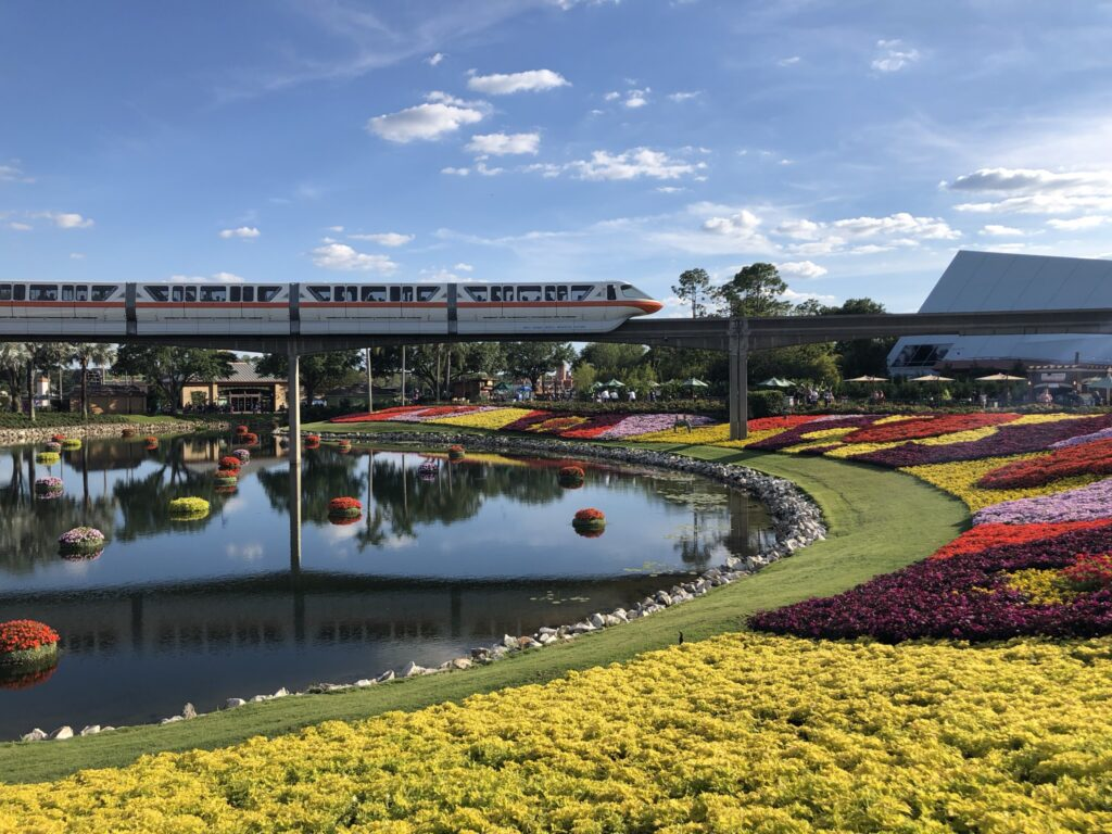Disney monorail system is accessible for all guests