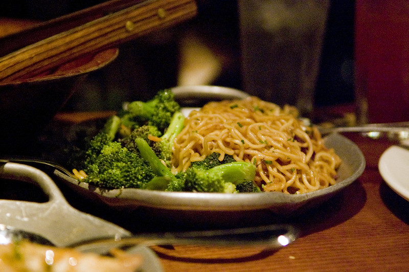Ohana Noodles with broccoli