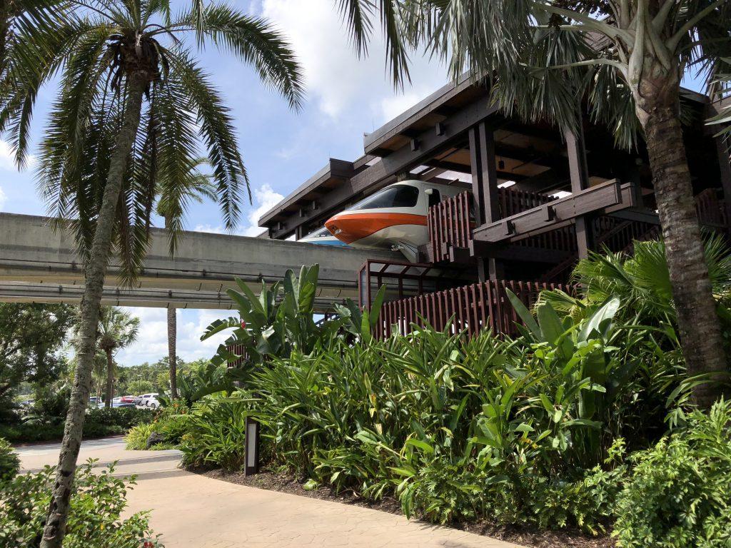 Polynesian Resort Monorail