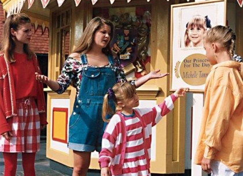 Full House's Tanner Family at Disney World