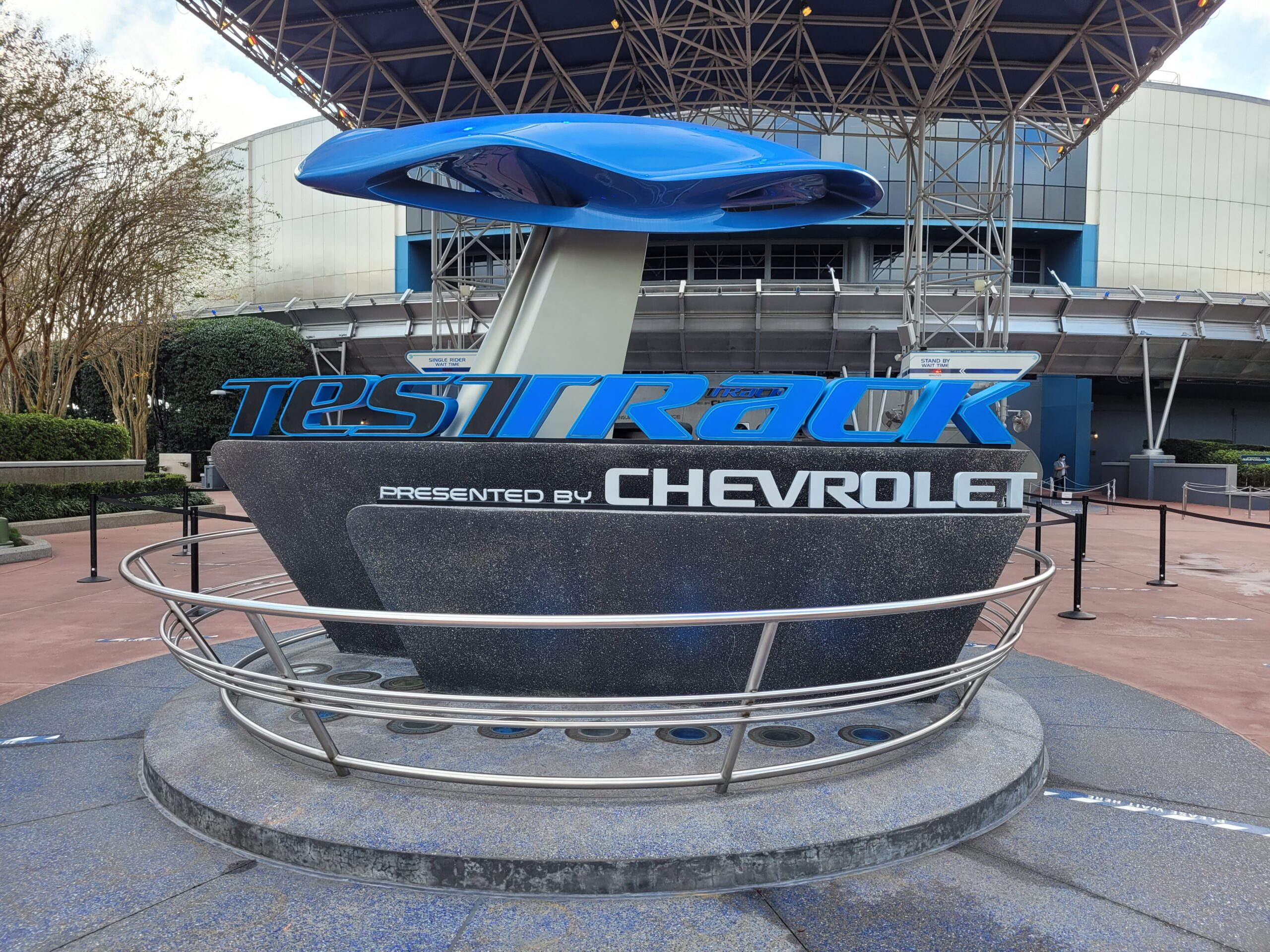 Disney's Test Track, the fastest ride at the Disney Parks