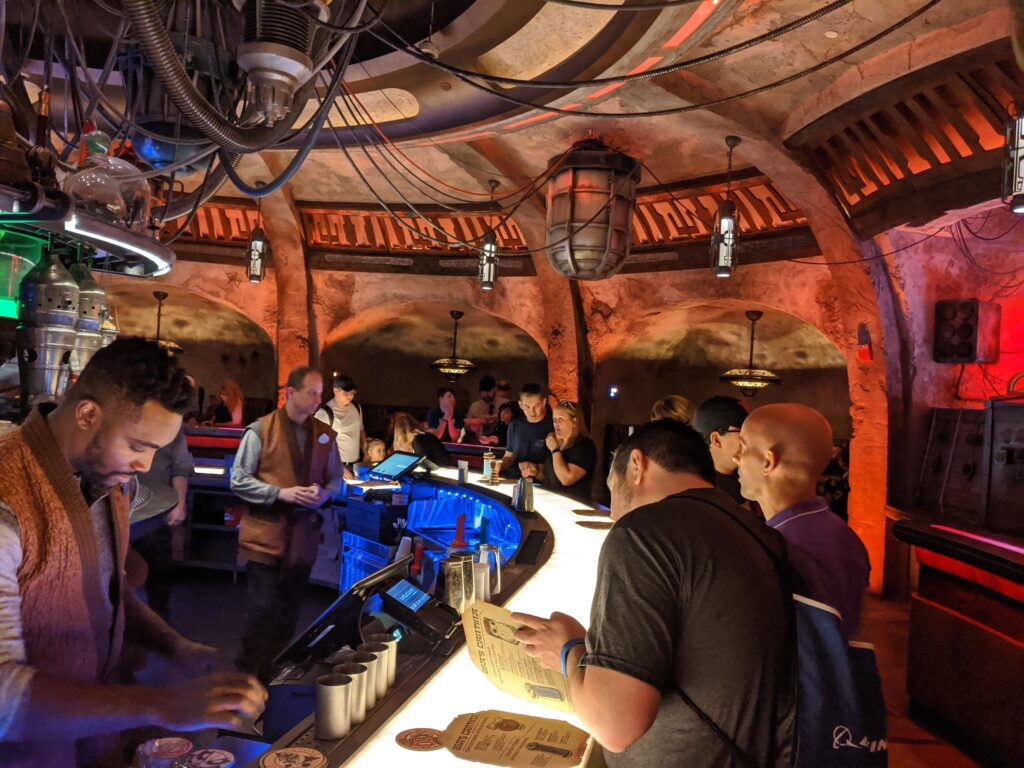 The Bar at Oga's Cantina by Eden, Janine and Jim