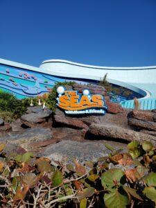 The Seas Pavilion Entrance at Disney's EPCOT