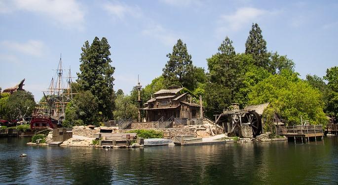 Tom Sawyer Island at Walt Disney World
