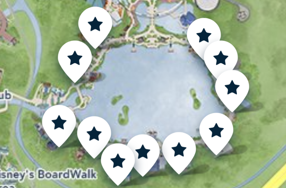 Where To Find Kidcot Fun Stops at Epcot