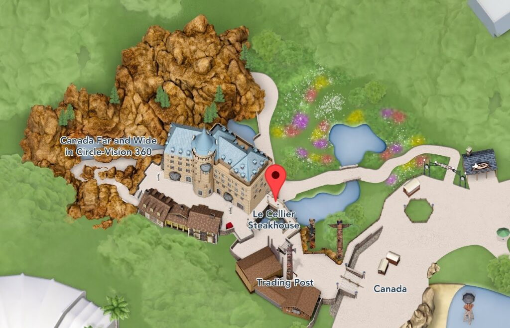 Where to Find Le Cellier Steakhouse at Epcot