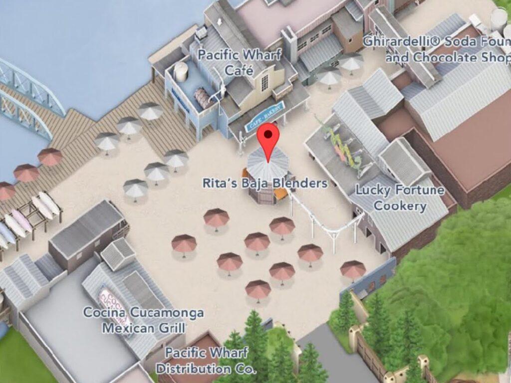 Where to Find Rita's Baja Blenders at Disney California Adventure