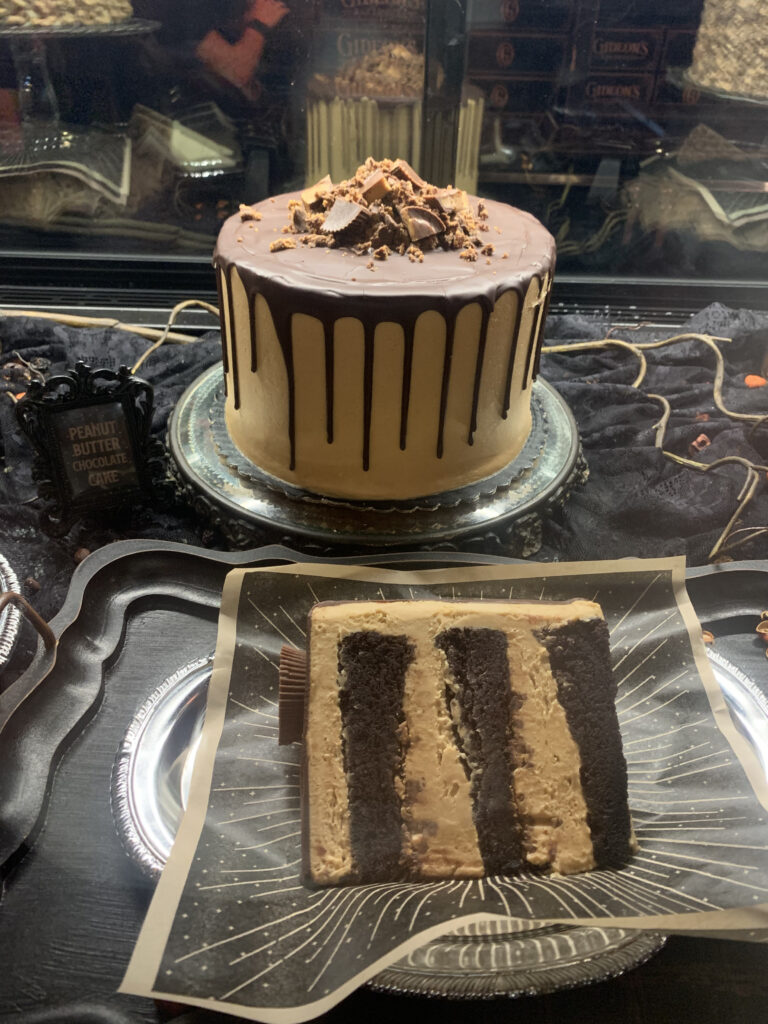 Peanut Butter Chocolate Cake at Gideon's Bakehouse - Disney Springs.
