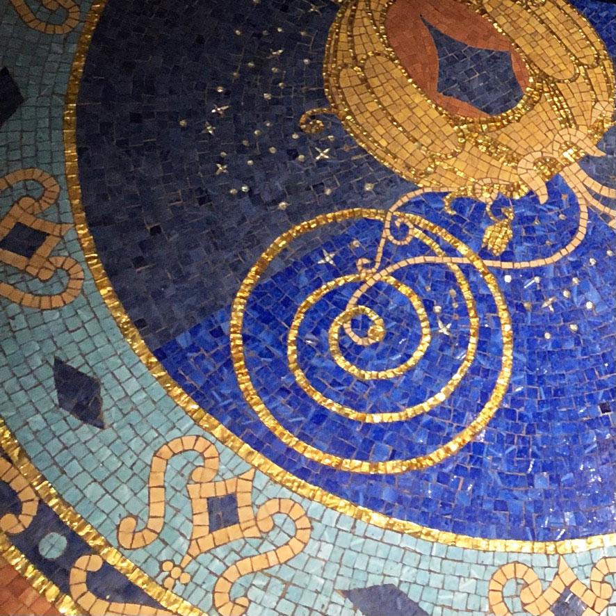Cinderella Castle Suite Floor Mosaic