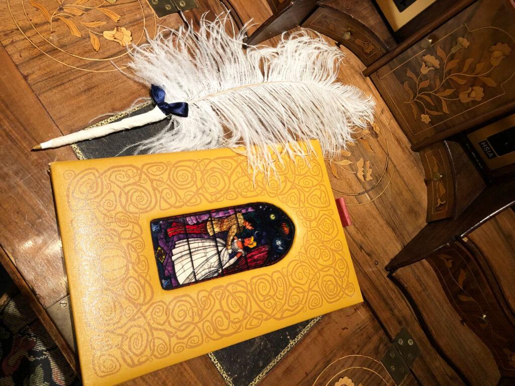 Cinderella Castle Suite guestbook