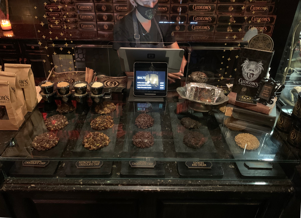 The display case at Gideon's Bakehouse.