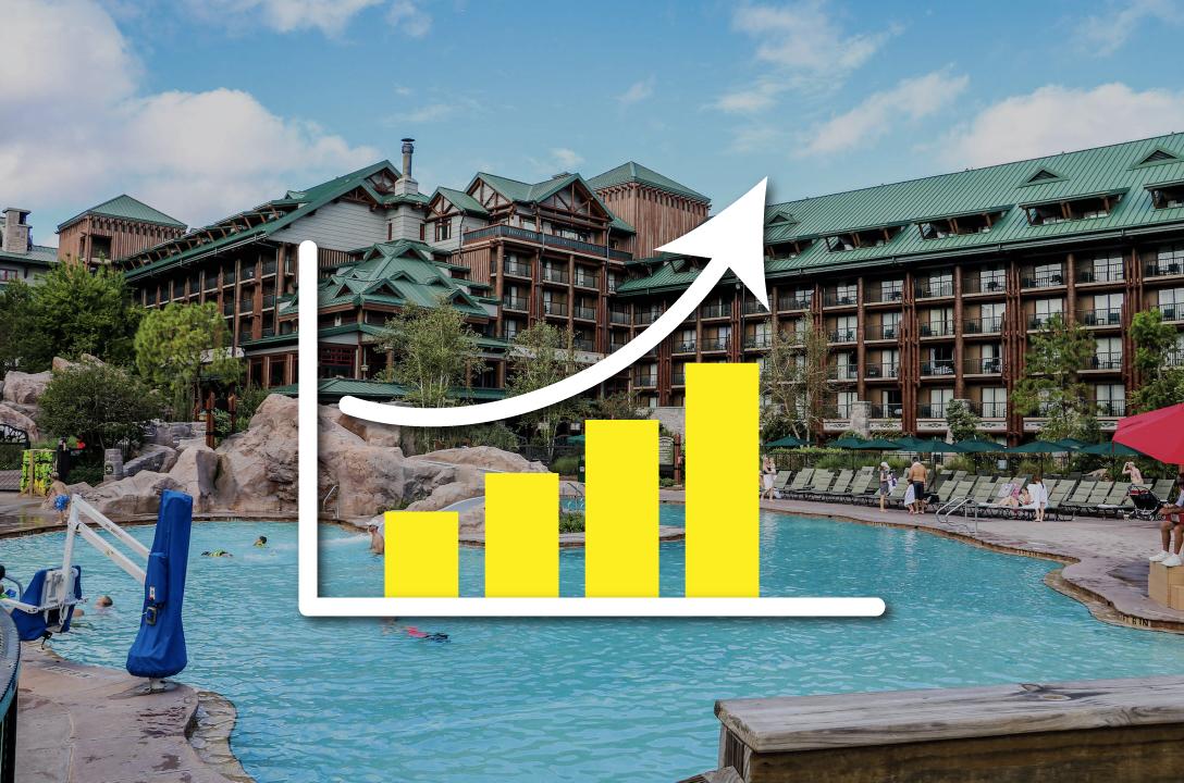The pool at Boulder Ridge Resort at Wilderness Lodge