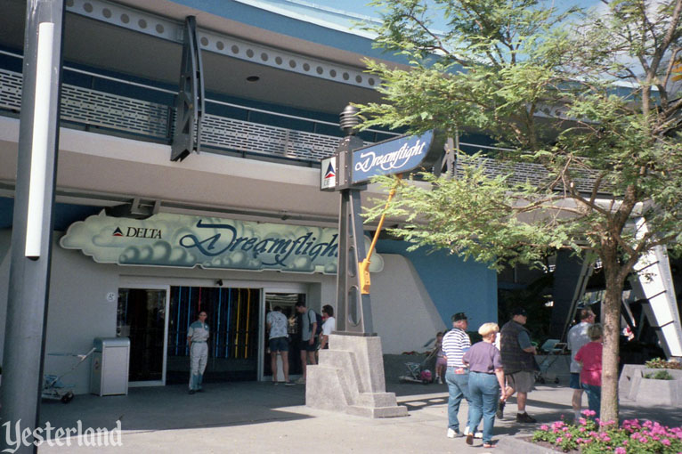 Delta Dreamflight was once a Disney's Magic Kingdom Tomorrowland attraction