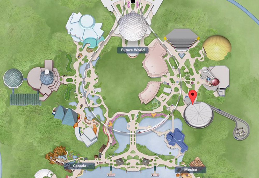 Test Track is located in EPCOT's Future World