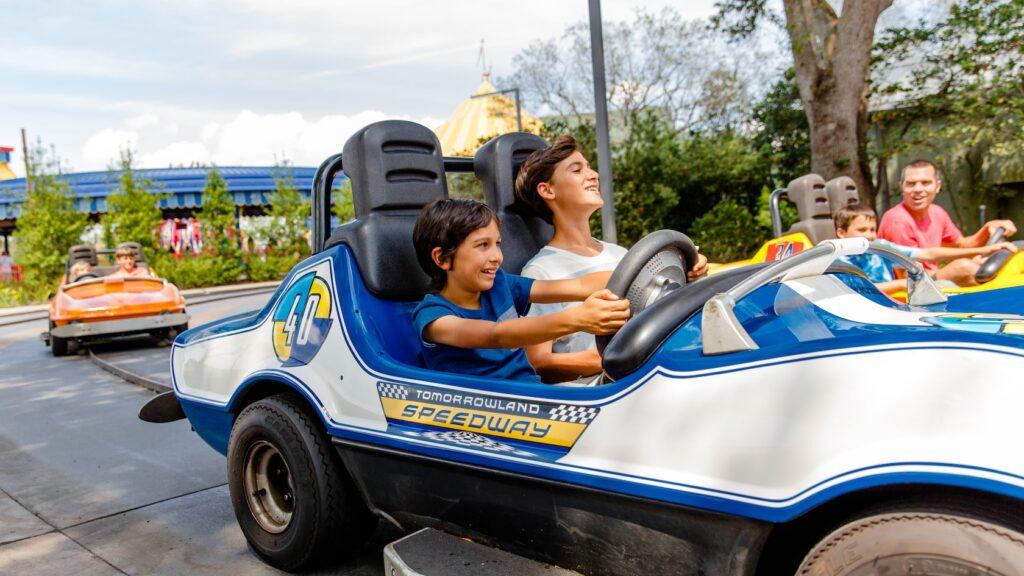 tomorrowland speedway go kart