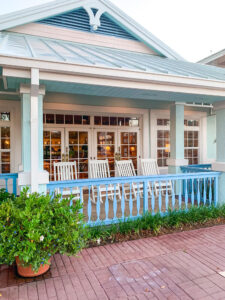 Hospitality House (Porch) - Disney's Old Key West Resort