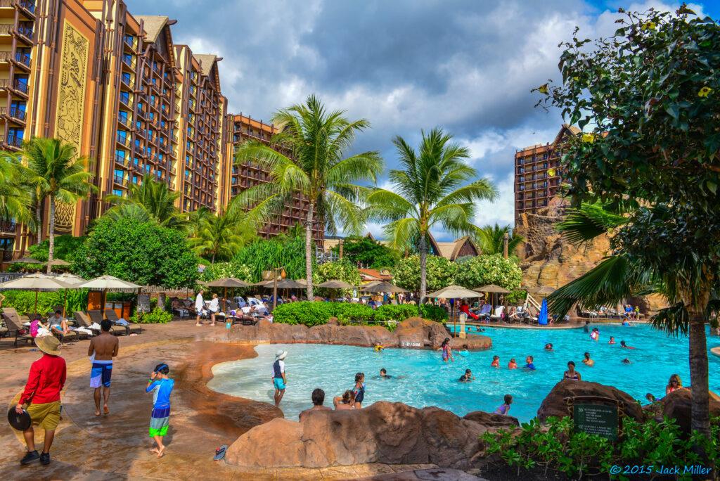 Disney DVC Aulani Resort pool