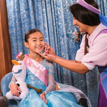 The Disney Frozen Crown Package Comes With A 12 Inch Olaf Plush Doll