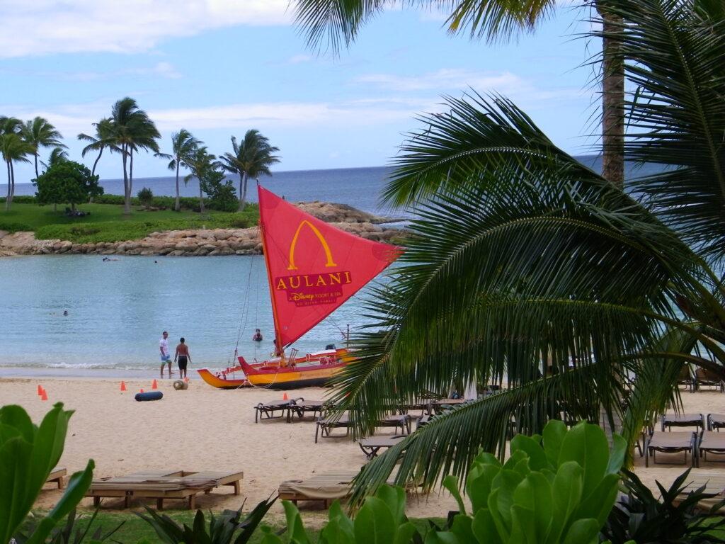 Disney DVC Aulani Resort beachside amenities