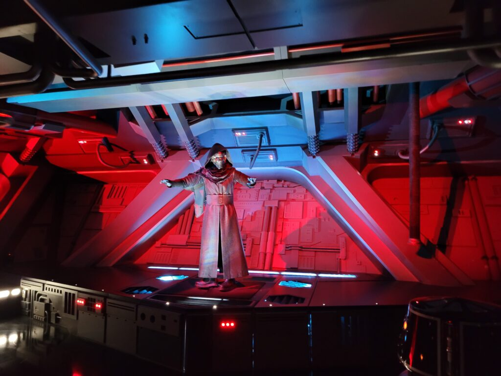 Nearly Escaping From Kylo Ren on Rise of the Resistance