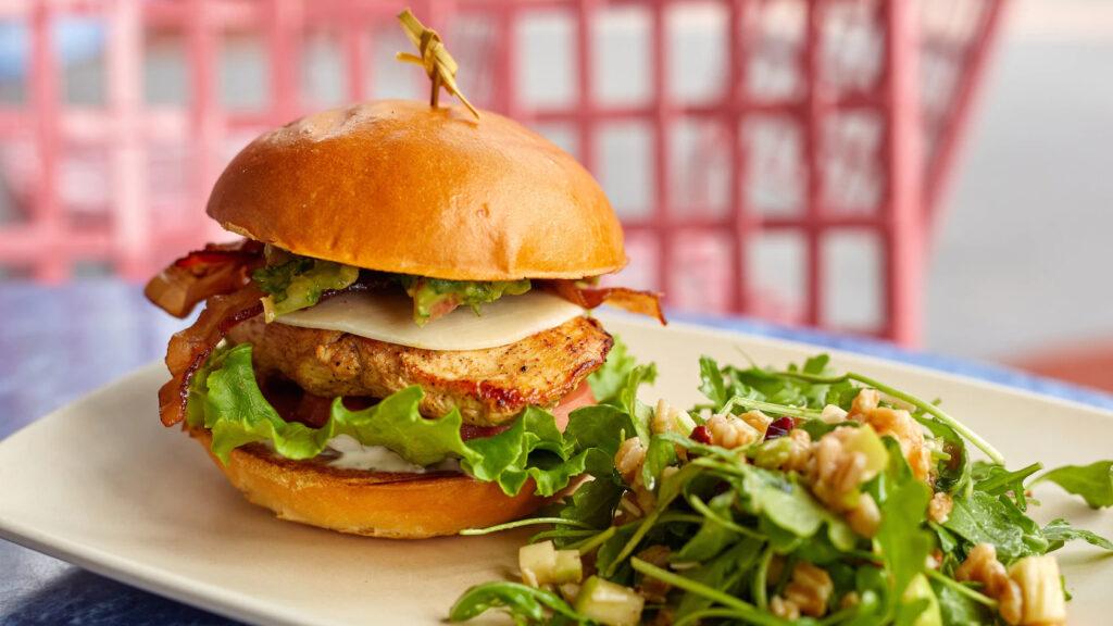 ABC Commissary Chicken Club Sandwich