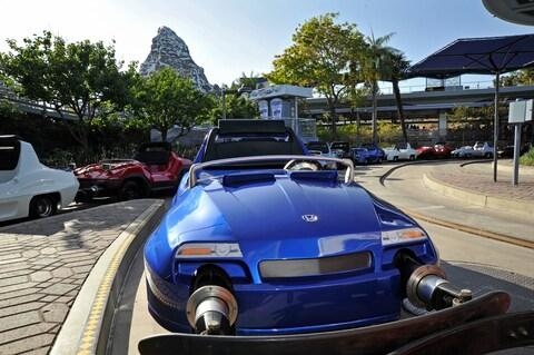 Autopia at Disneyland California
