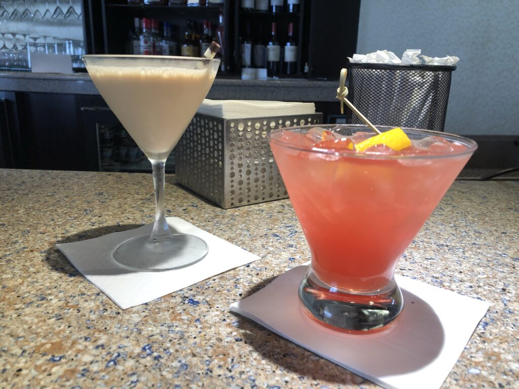 Drinks at the Outer Rim bar at Disney's Contemporary Resort