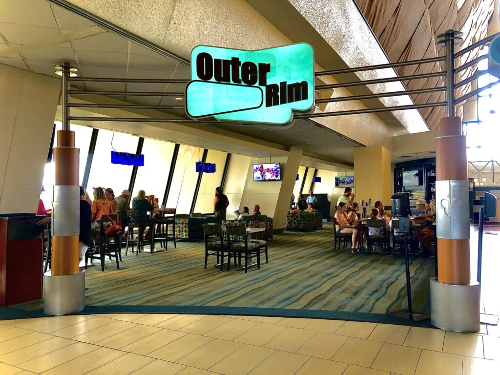 Outer Rim bar at Disney's Contemporary Resort - Monorail Bar Crawl