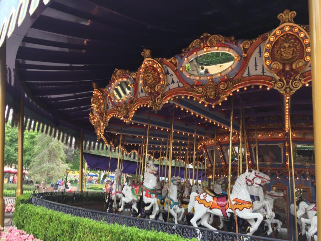 King Arthur Carrousel, Disneyland
