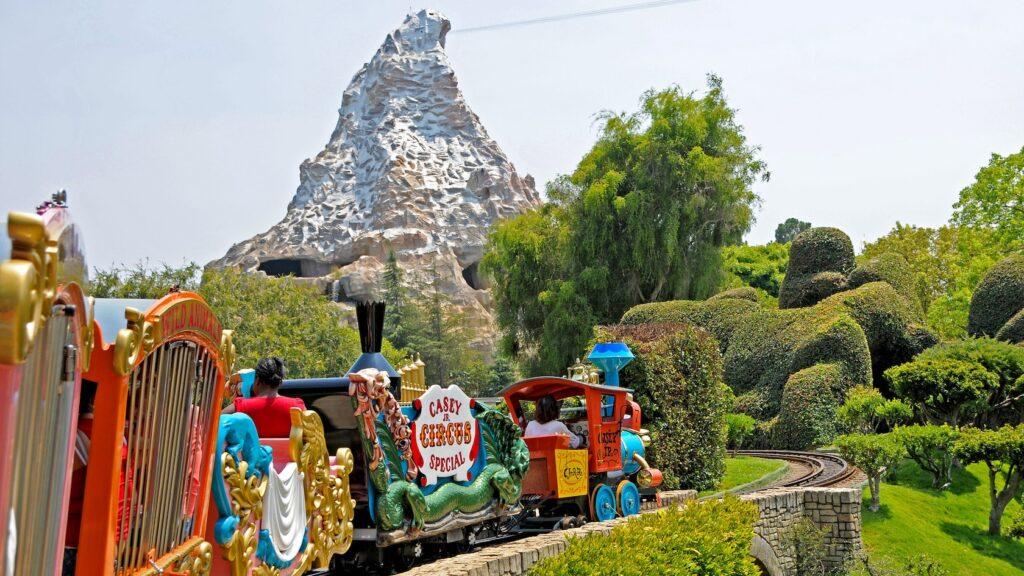 Casey Jr. Circus Train in Disneyland