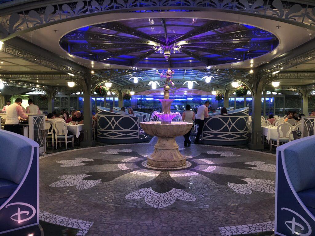 Enchanted Garden, Disney Cruise Ship dining